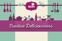 Creative Deliciousness / Where all of your questions will be answered! Come and find what you need with all of our flavorsome videos, pictures & infographics and discover more about our products.