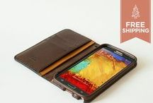 Samsung Galaxy Cases / The brand new Galaxy Note 3 wallet is now available to purchase at our Etsy shop: http://trimleather.etsy.com