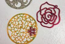 Adventures in Efcolor Enamels / Students work in Efcolor Enamelling workshops