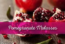 Pomegranate Molasses / #Pomegranate #Molasses is an essential ingredient in Lebanese and Mediterranean cuisine and Al Wadi Al Akhdar offers an All Natural Pomegranate Molasses that is unique on the market for containing only 100% pure pomegranate juice. Its sweet and sour flavor makes it a perfect replacement for lemon juice or an impeccable addition to many meals. This distinctive ingredient is used in marinades, glazes, dressings, sauces and savory dishes in addition to desserts.