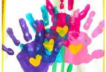 Mother's Day / Father's Day Activities / Activities for Mother's Day and Father's Day. Crafts and gift ideas. Suitable for homeschool, childcare, preschool, kindergarten, first grade and second grade.