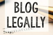 Legal-ish / Operate a legal blog + business