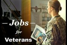 Veterans Career Resources / Where veterans can find job searching and useful resources.
