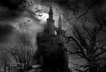 Gothic Romantic / I could not love except where Death was mingling his with Beauty's breath