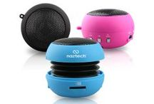 The N15 / Loud & Powerful on the go! The Mini Boom Speakers have arrived. / by Naztech