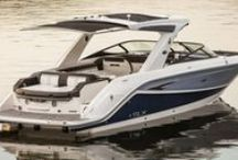 New Boat Models / Brand new boat models debuting for top boat brands like Sea Ray, Boston Whaler, Formula Boats, Cruisers, and more.