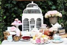 Mesas Dulces / Dessert Table / Mesas Dulces y Fiestas / Dessert Table and Party / by Cupcake Creativo