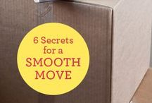 Moving Day / Tips and tricks to make your moving day go smoothly!