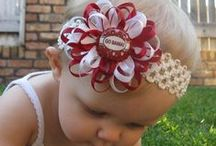 Hair clips and head bands
