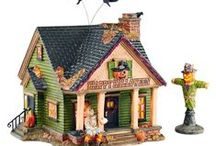 Chicky Dee's Gifts Halloween Village by Department 56 / Halloween Village by Department 56.  Part of the Snow Village series.