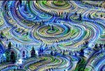 Deep Dreams / Images made via Google's deep dream code.