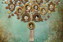 Genealogía / Árbol genealógico, ideas con fotos