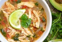 Food: Paleo Soups & Salad / by Shelby Markus