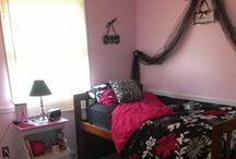 Pink Black and White Room / by Dar Hauser