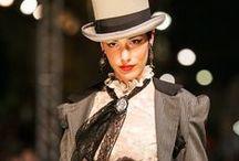 """""""Dorian G."""" - Roberta Romano  / Roberta Romano debutta al MADEINMEDI 2013 con Dorian G., collezione ispirata al celebre romanzo di Oscar Wilde che interpreta attraverso gli abiti che hanno sfilato a Noto la sera del 7 giugno, quasi a voler vestire i personaggi e l'intera storia di cui si è tanto appassionata."""
