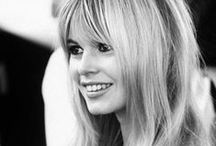 Brigitte Bardot / The style icon from the 60s! She's my idol and I'm in love with her style ♥