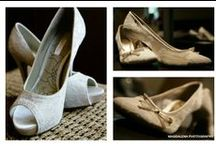 Wedding Shoes Ideas / I just love wedding shoes and here are a few of my favourites!