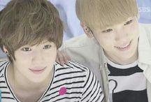 mom and baby (*`ㅂ´*)♡(б∀б) / Key♡Taemin  They are so cute♡