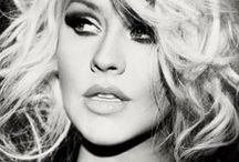 Christina Aguilera / She's a big example to me
