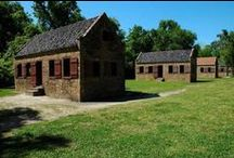 Historic Properties of South Carolina / Whether it's plantation houses, post offices, train depots, lighthouses, or landscapes; South Carolina has some beautiful historically significant places to visit.