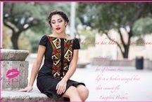 eyelet African print little black dress / african print ankara eyelet lace little black dress - the femi dress. www.adakwube.com