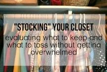 Come Clean / Cleaning, organizing, decluttering.