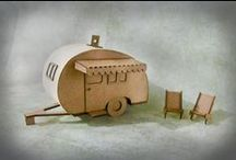 Cool Camper Arts and Crafts / Inspired by travel and trails... art, crafts, ideas, expression.