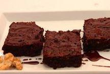 Low Carb Brownies / Schokokuchen