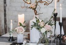 | TABLE DECOR / Dinner parties, table styling.