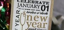 Holidays - New Years Eve / New Years Eve inspiration and crafting