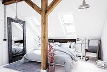 BEDROOM - BLOG / All the bedroom inspiration you need to create a lovely bedroom. This board is filled with bedrooms in all styles, whether it's bohemian or Scandinavian, you can find it here