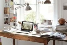 OFFICE - BLOG / Every home can have can office space. In this board you will find workspace inspiration for all styles and sizes.