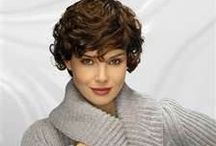 Short hair cut  / different hairs style for short curly hairs