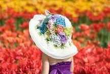 Pin! Flower People / 花を楽しもう
