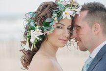 Floral Bridal Hair