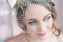 Bridal Hair with Wedding Veil
