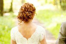 Beautiful Bridal Hair / Bridal hair with pearls