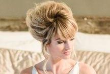 Bridal Hair Volume / Elegant bouffant