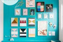 Gallery Walls & Art Displays / Stylish & impactful gallery walls, art displays, and picture groupings