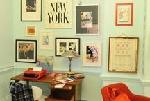 Home Office / Stylish & arty home office spaces