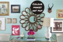 Living / Arty living spaces