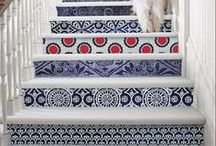 Artful Stairs, Steps, & Staircases / Bringing art and colour to the oft-neglected steps