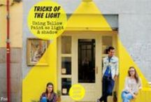 Tricks of the Light / Using Yellow Paint as Light & Shadow