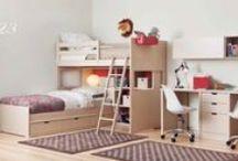 Dormitorios juveniles para dos / Literas y dormitorios infantiles y juveniles para hermanos o invitados. Nada mejor que dormir acompañado.