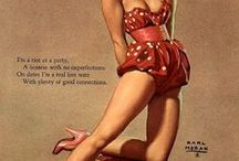VINTAGE PIN-UPS / by evon wooden
