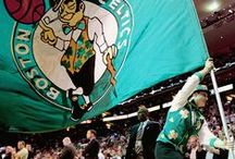 """Boston Celtics / """"I bleed green and white"""" True fans stick with her/is team through ups and downs. / by Ji-anna Elnas"""