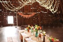Big Barn Dreams / One day we would love to have the funds  to renovate the old dairy barn.  For now we will dream of how we'd like the renovation to look and the weddings, and events held there!