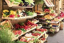 Farm Stand  & Farm Market Ideas / Our farm stand always looks fresh, but we are always looking for ideas to make it event better