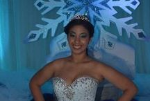 150307ER Emily Reyes Quince Celebration A Winter Wonderland Theme / 150307ER Emily Reyes Quince Celebration A Winter-Wonderland Theme