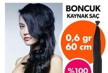 Boncuk Kaynak Saçlar / www.sacveperuk.com %100 Gerçek karışımsız garantili saçlar web sayfamızdan alın kapıda ödeyin